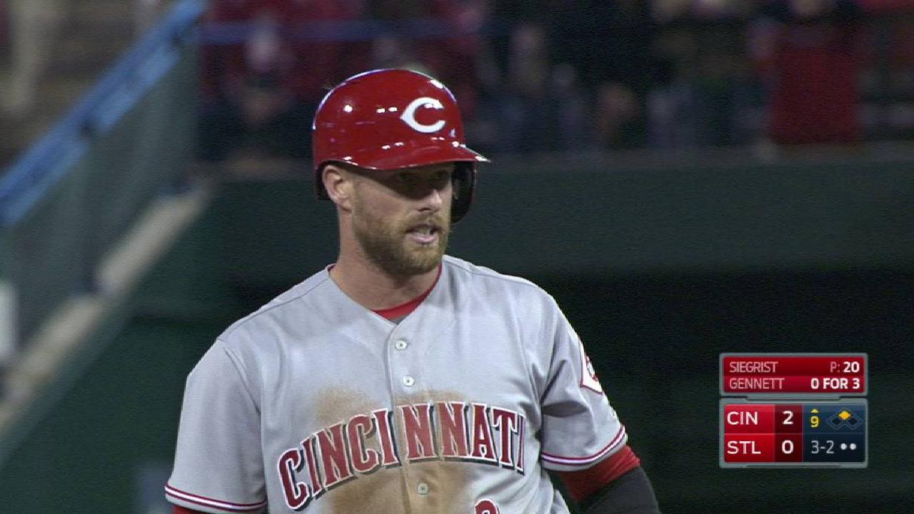 Cozart sits out second game with sore left wrist