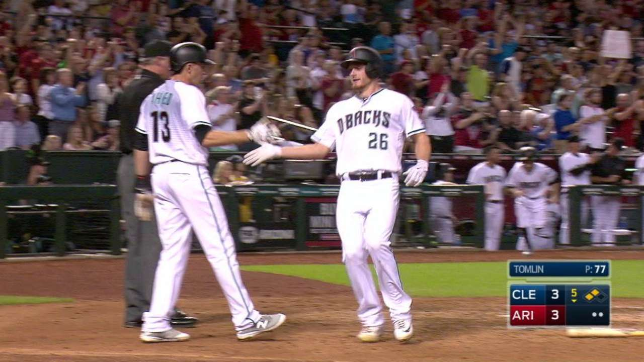 D-backs rally, hand Tribe first loss