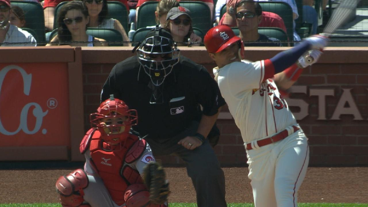 Wacha solid, Diaz has big day in Cards rout