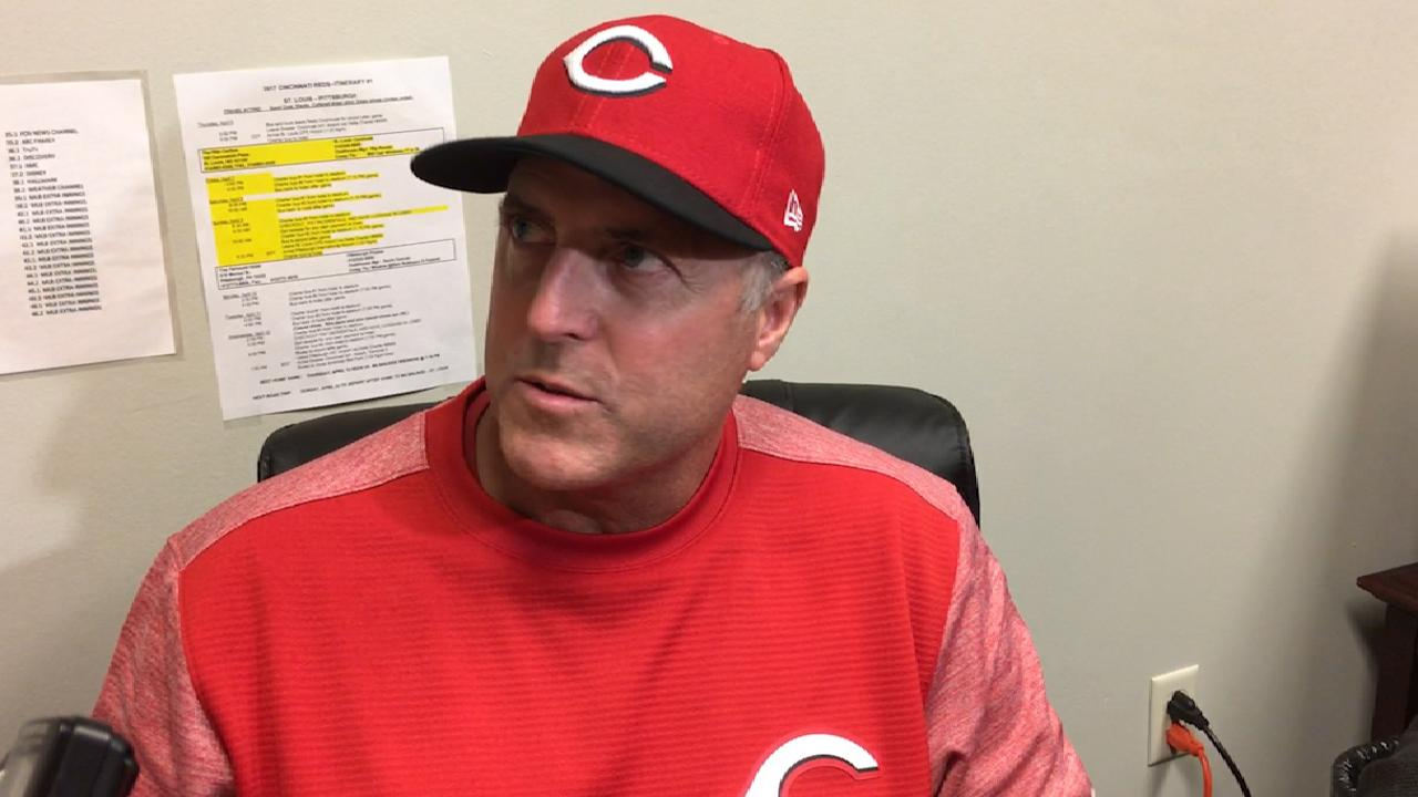 Price on Arroyo's outing in loss