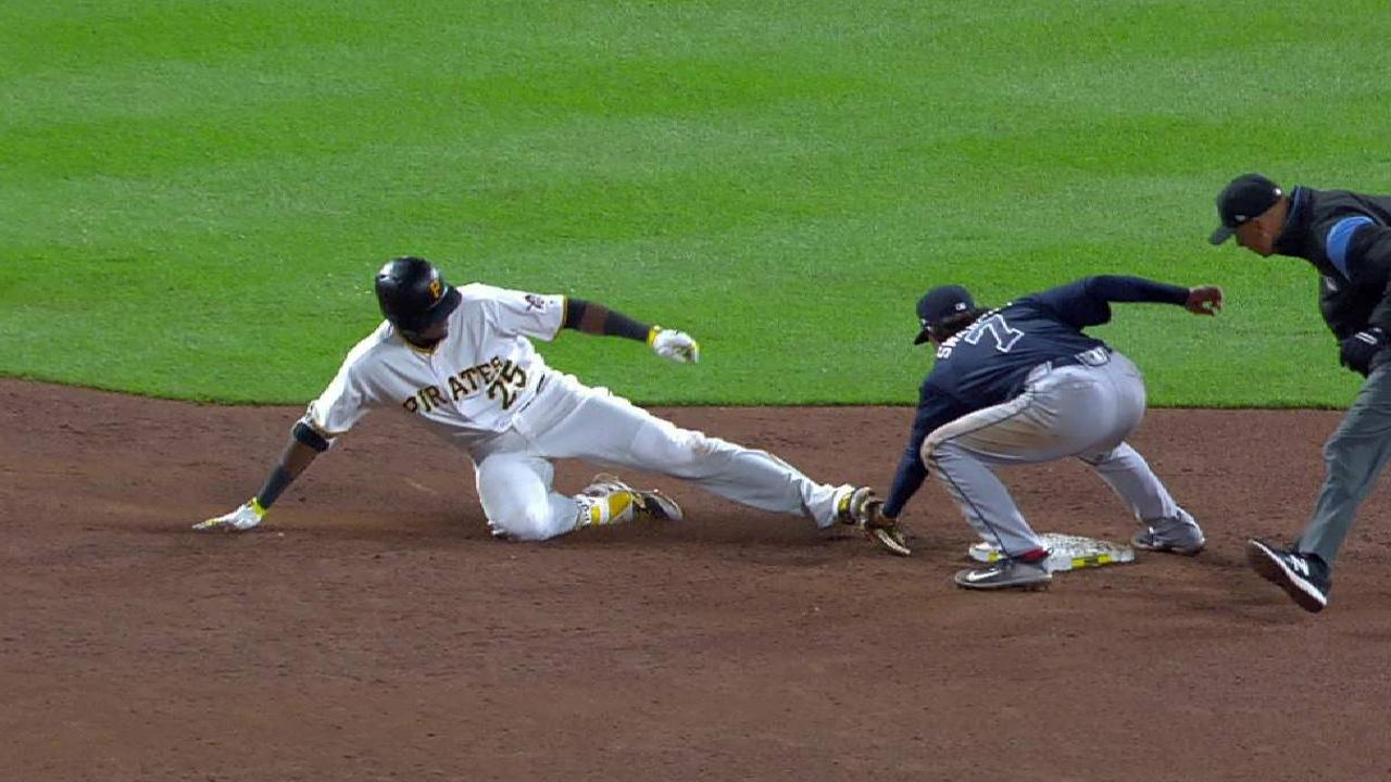Polanco out after call stands