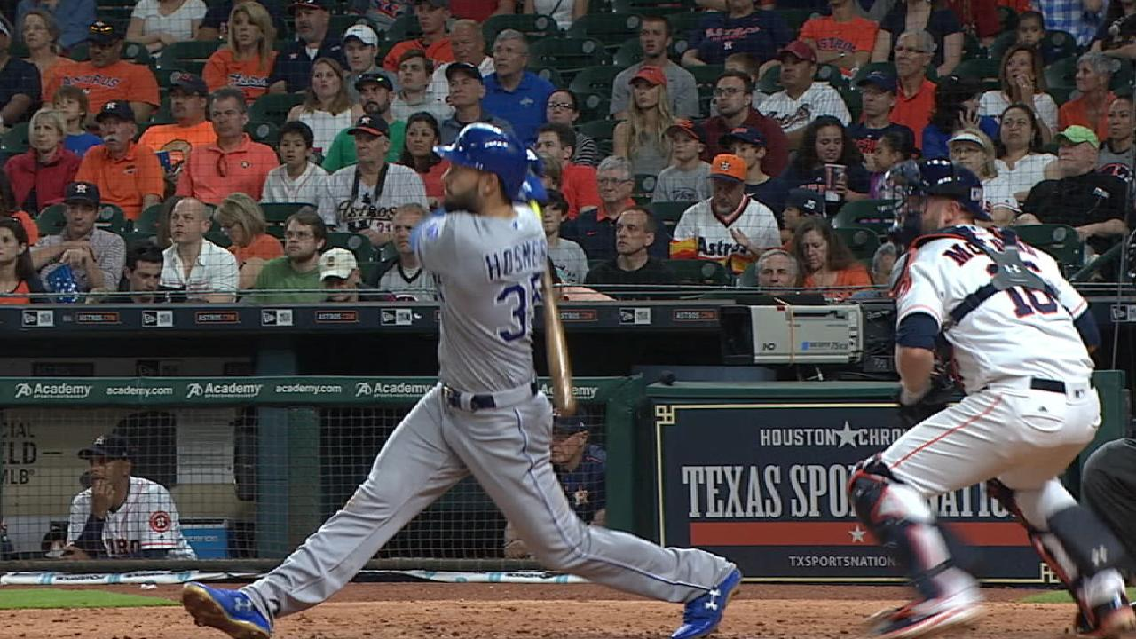 Shades of 2015: Royals rally late in Houston