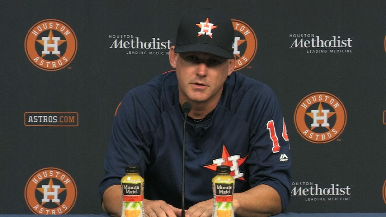 Hinch discusses tough loss