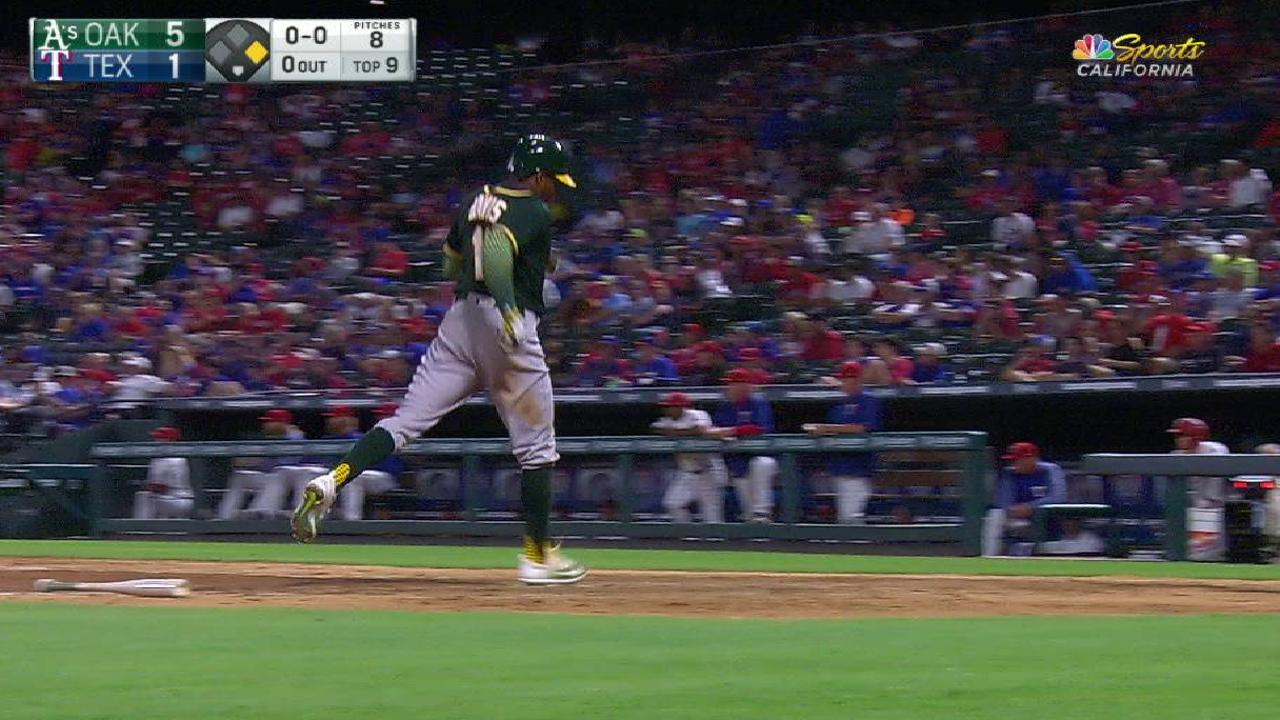 Semien has cast taken off, eager to return