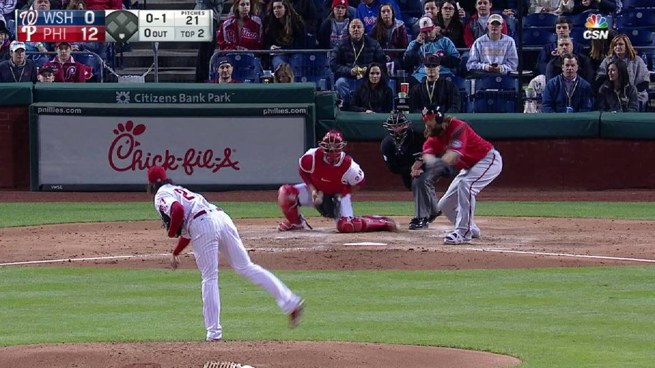Nola strikes out Werth