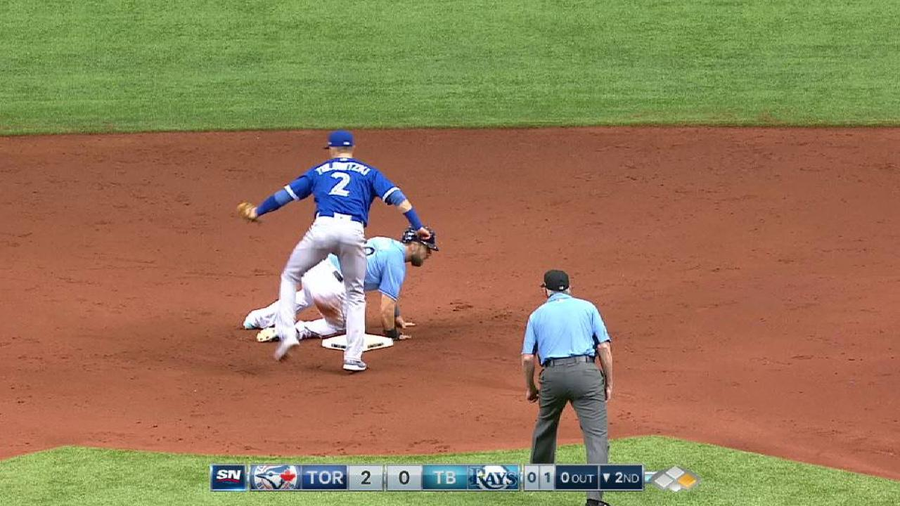 Tempers flare during Blue Jays-Rays finale