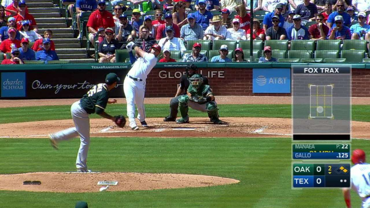 Gallo drives in 5, lifts Rangers to series win