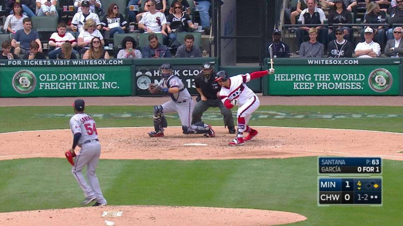 Santana quiets White Sox; Twins move to 5-1