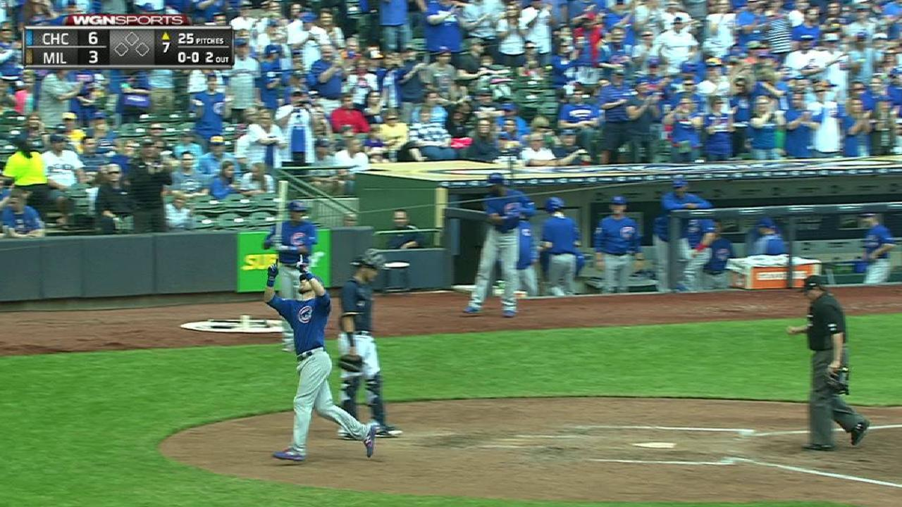 Zobrist's solo home run
