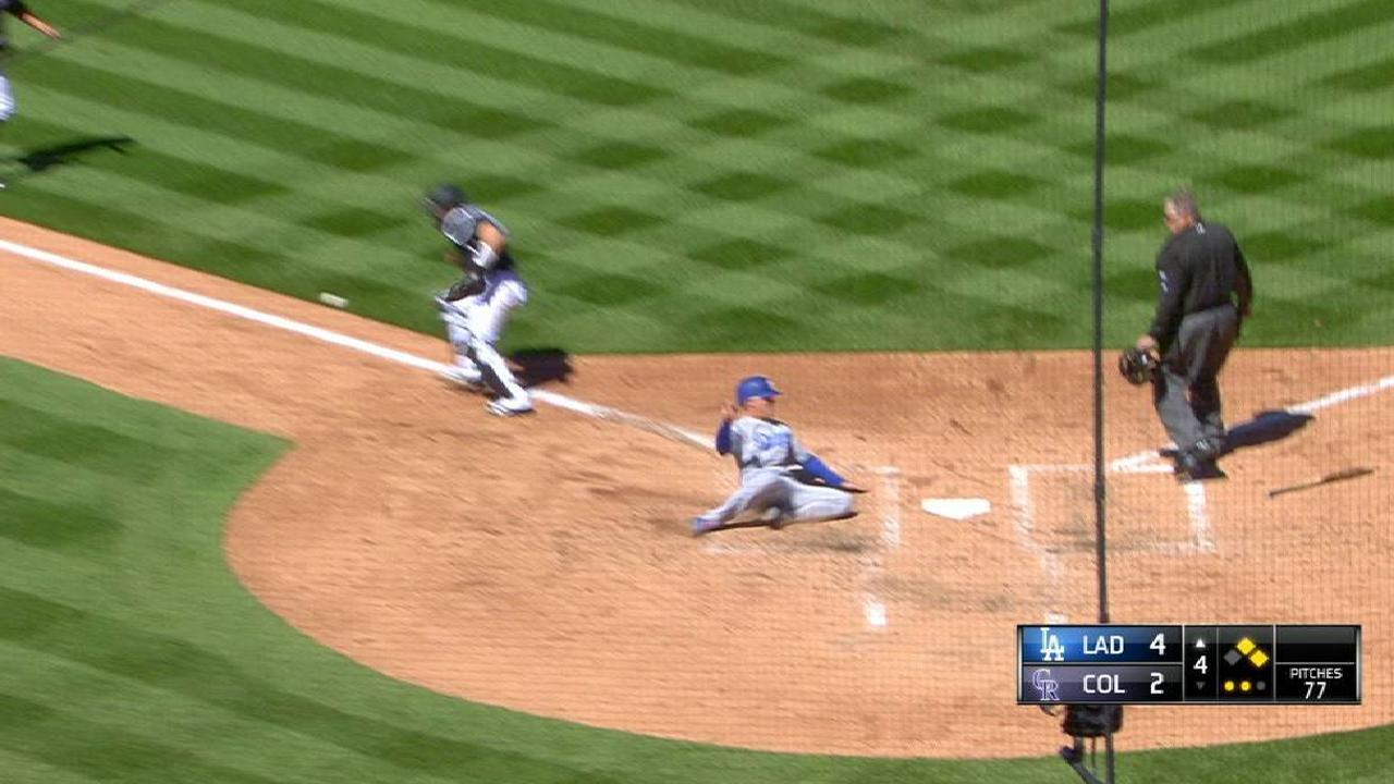 Dodgers' bats capitalize to get past lefty