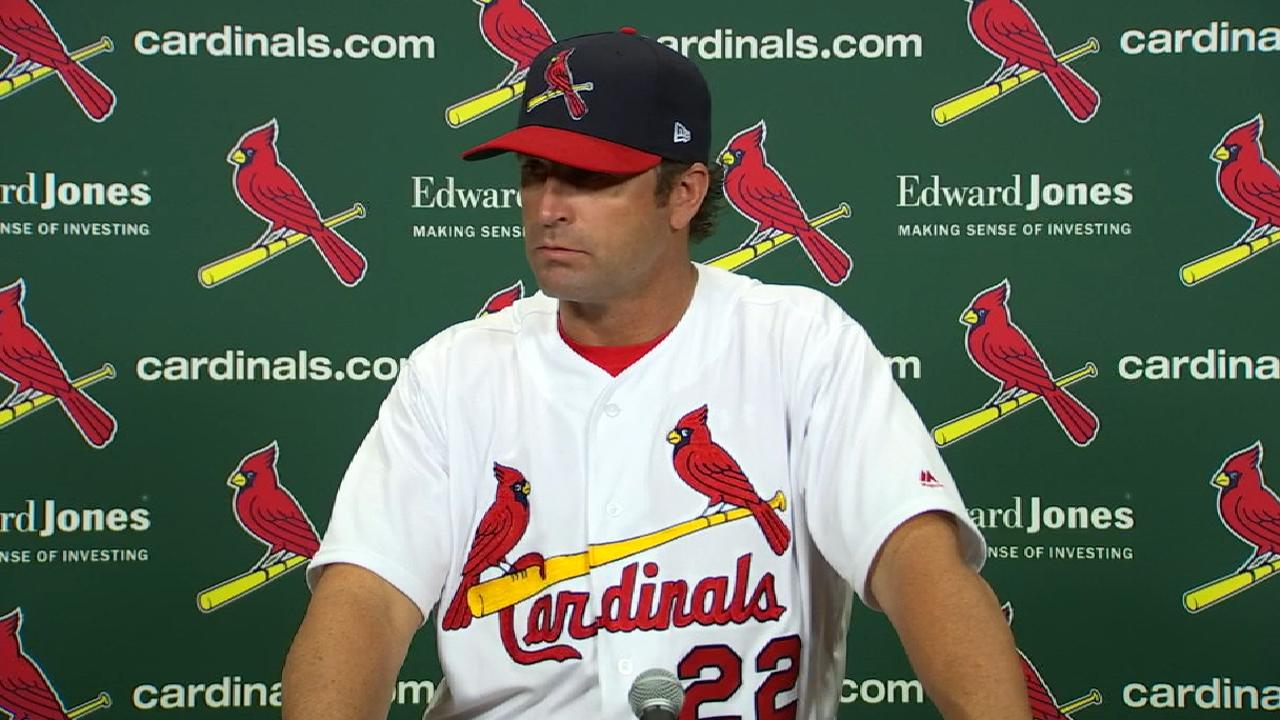 Matheny on 8-0 loss to Reds