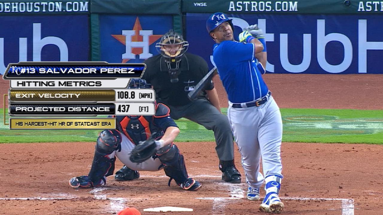 Statcast: Perez's 108-mph homer