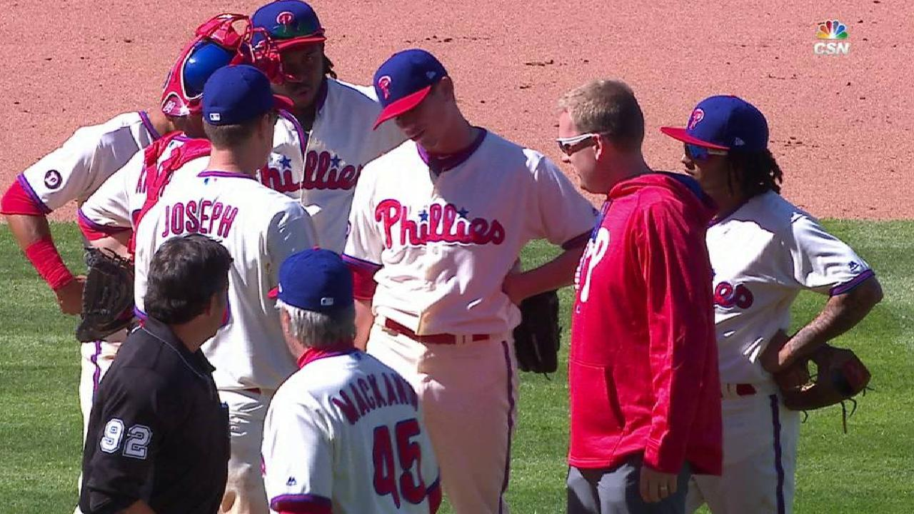 Hellickson pulled before 6th