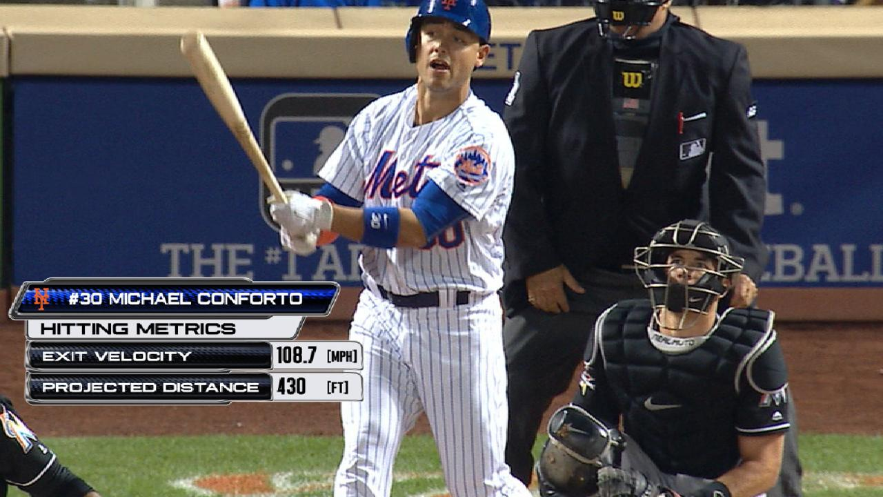 Conforto makes most of first start of 2017