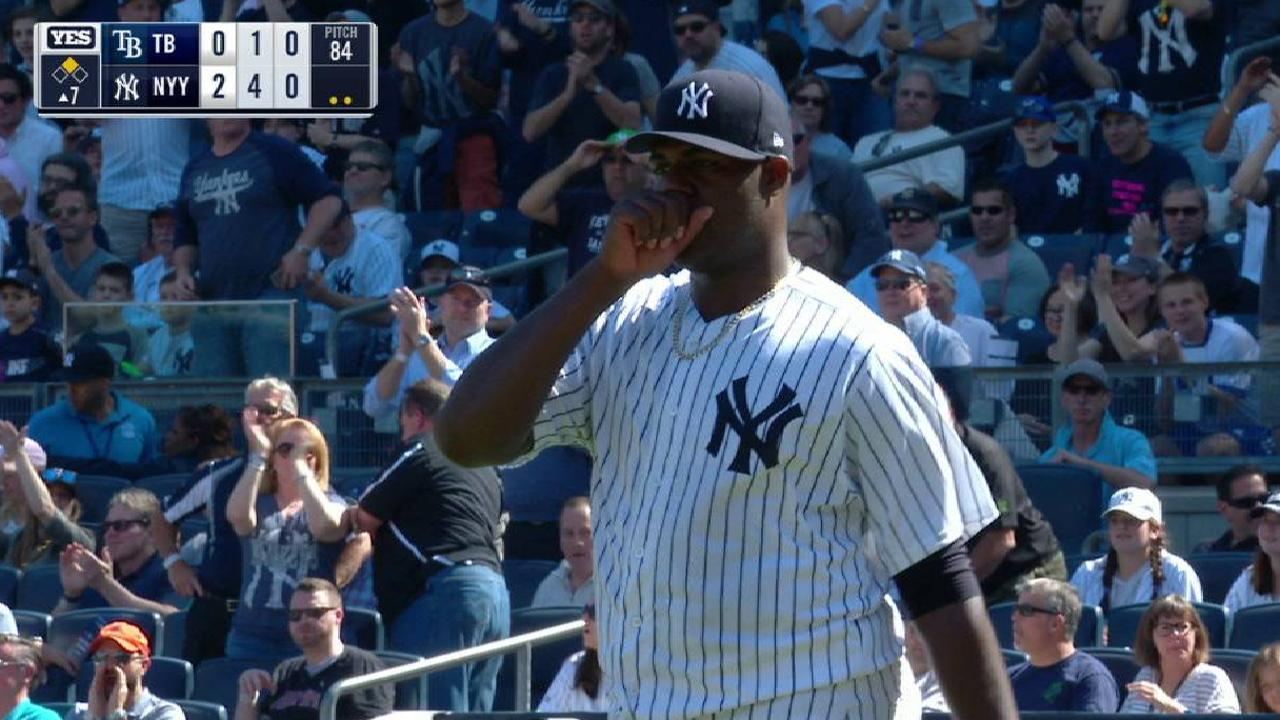 Pineda loses perfect-game bid