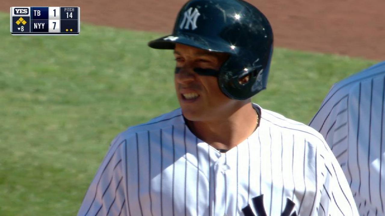 Ronald Torreyes aprovecha su tiempo como titular en los Yankees