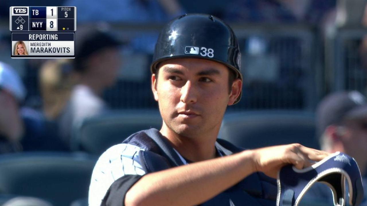 Higashioka's MLB debut