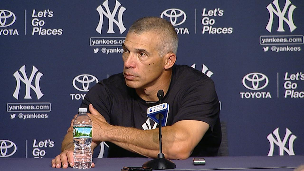 Girardi on home opener win