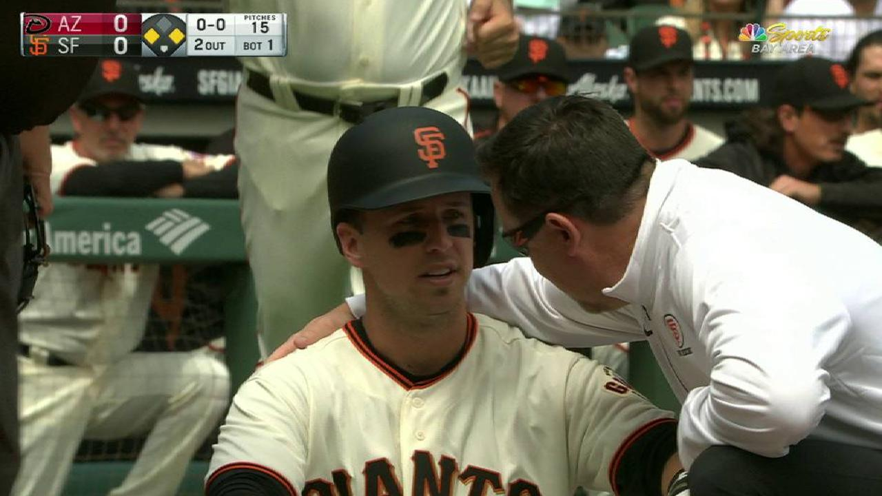 Giants can't afford to lose Posey for long