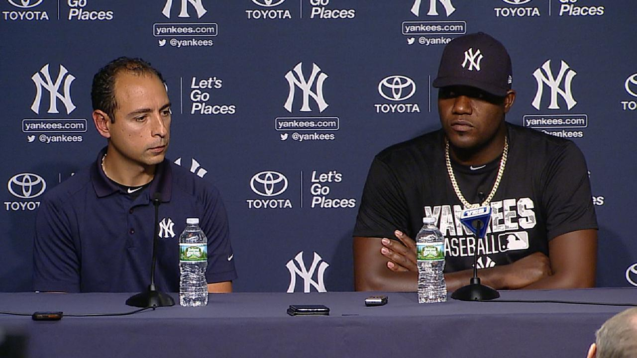 Pineda on his dominant outing