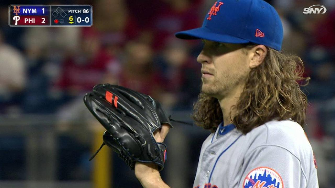 deGrom's start reminiscent of signature outing