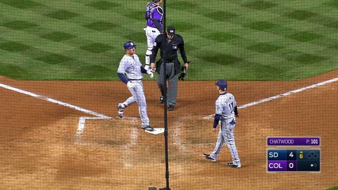Renfroe cranks two-run homer