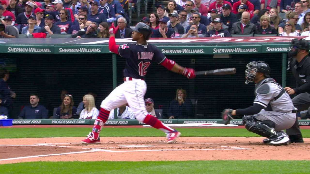 Lindor's solo home run