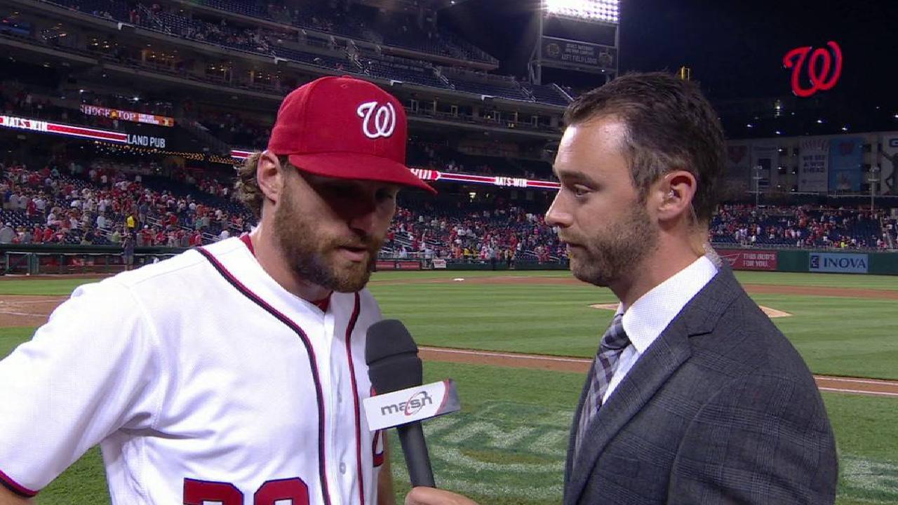 Murphy talks about his big night