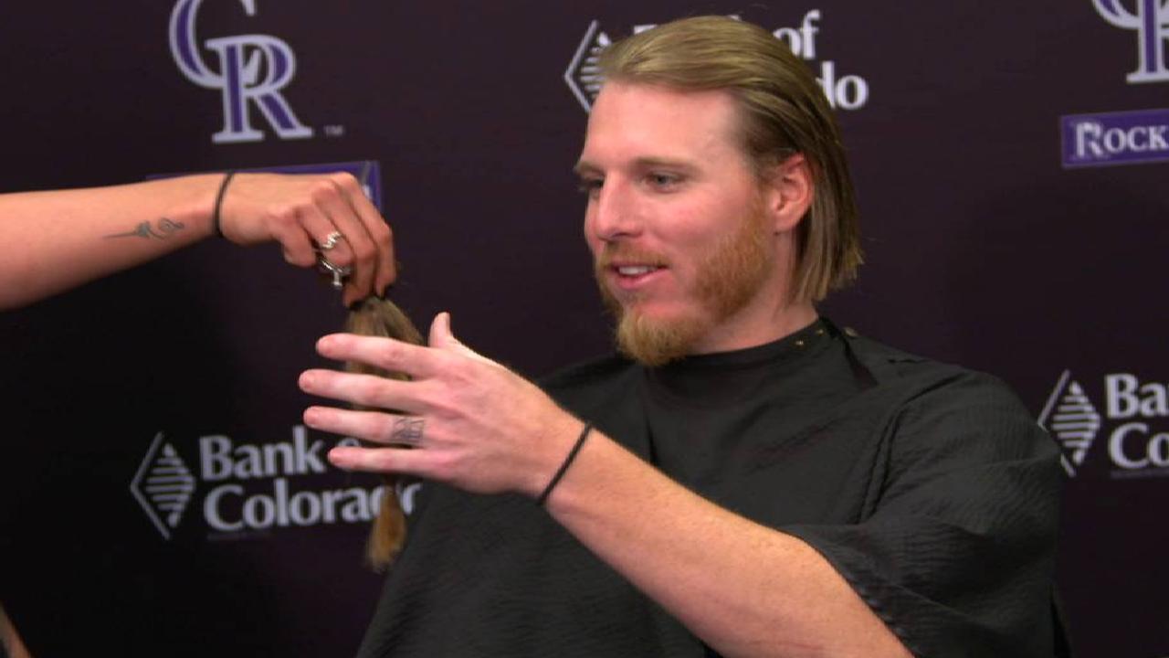 Carlos Gonzalez Rockies Haircut