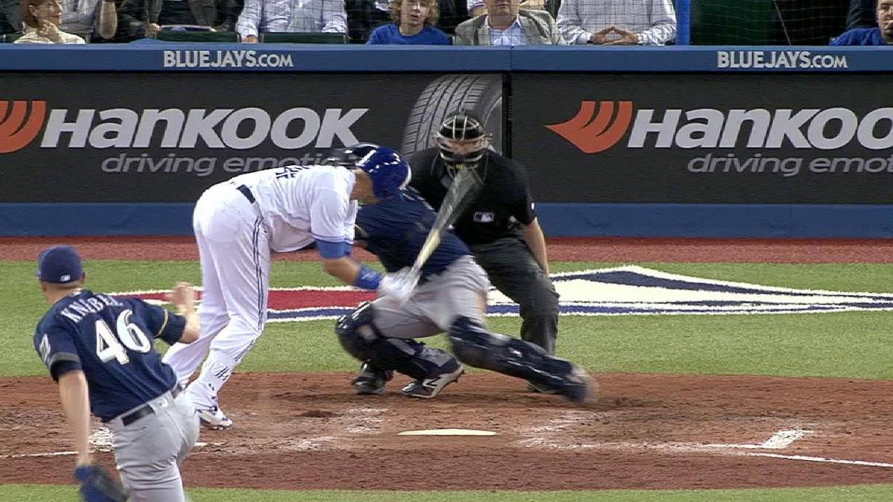 Pitch avoids Smoak after review
