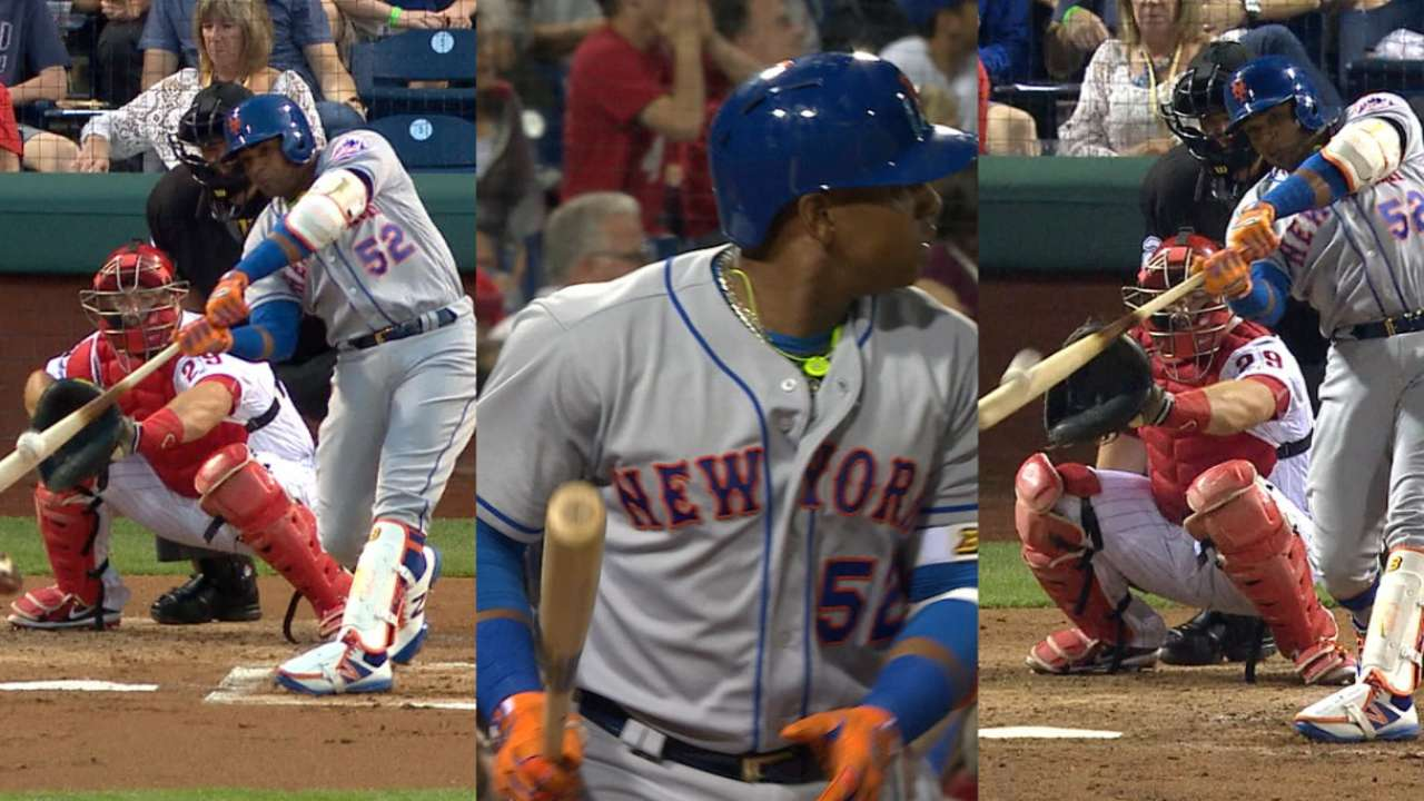 Must C: Cespedes shows off power
