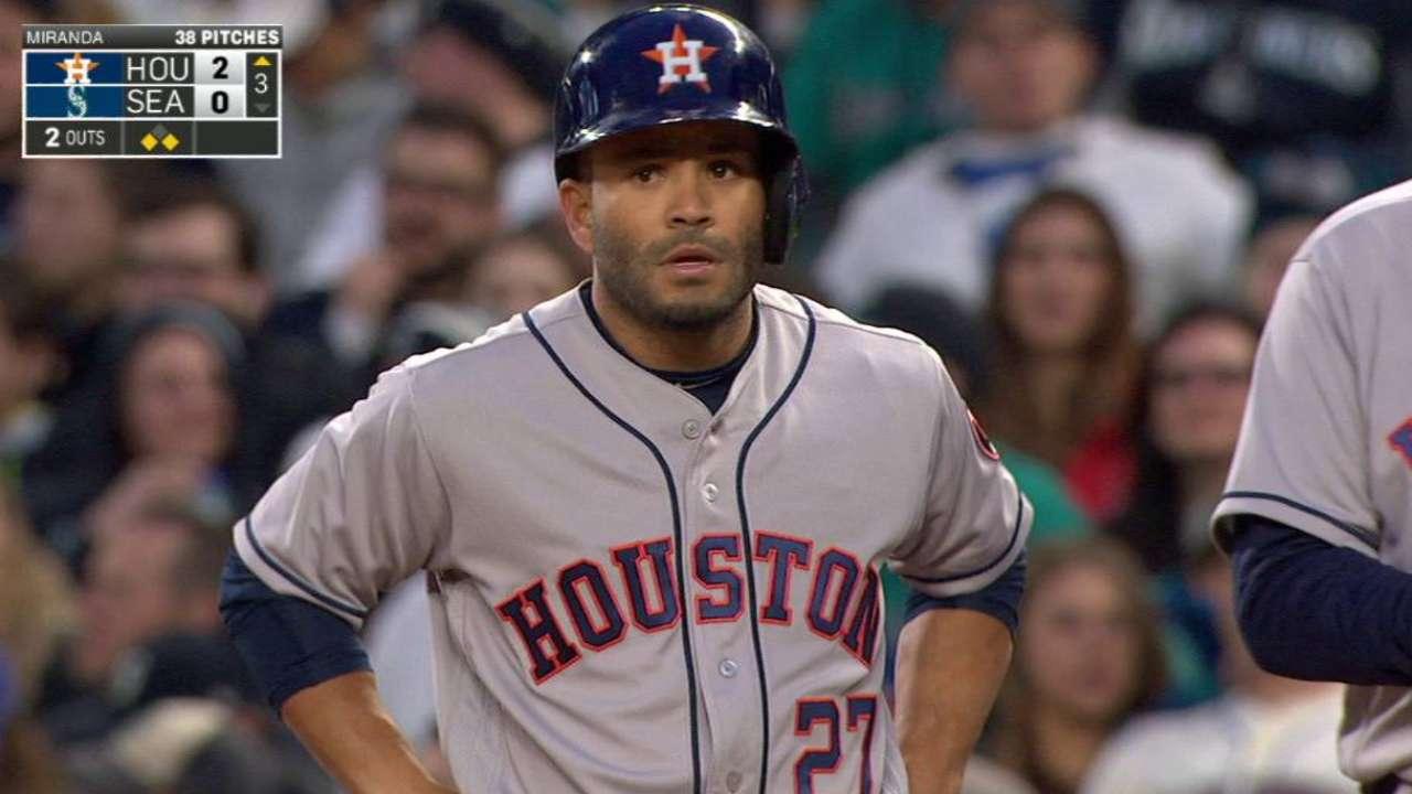 José Altuve da señales de entrar en su ritmo acostumbrado con Astros