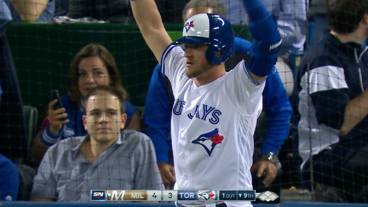 Donaldson's pinch-hit appearance good sign