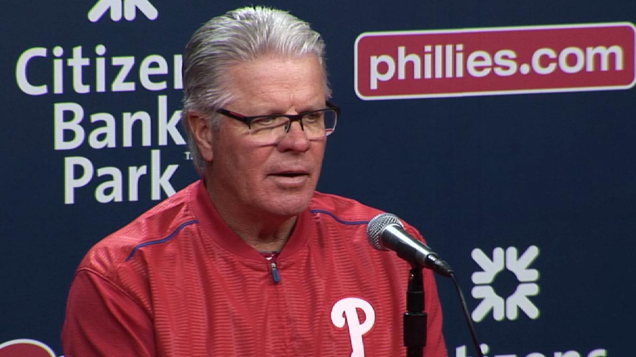 Mackanin talks loss to Mets