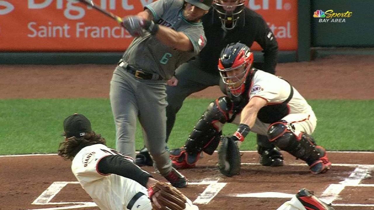Samardzija finishes strong in loss to D-backs