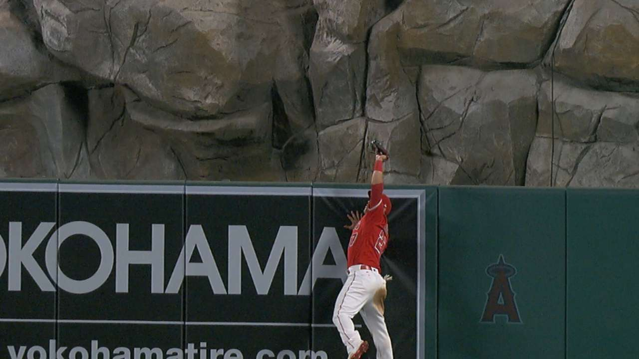 Must C: Trout robs home run