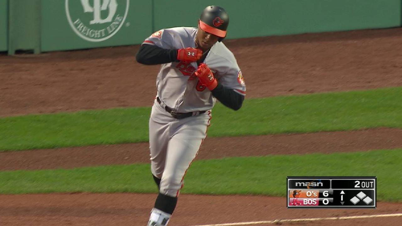 Schoop's solo home run