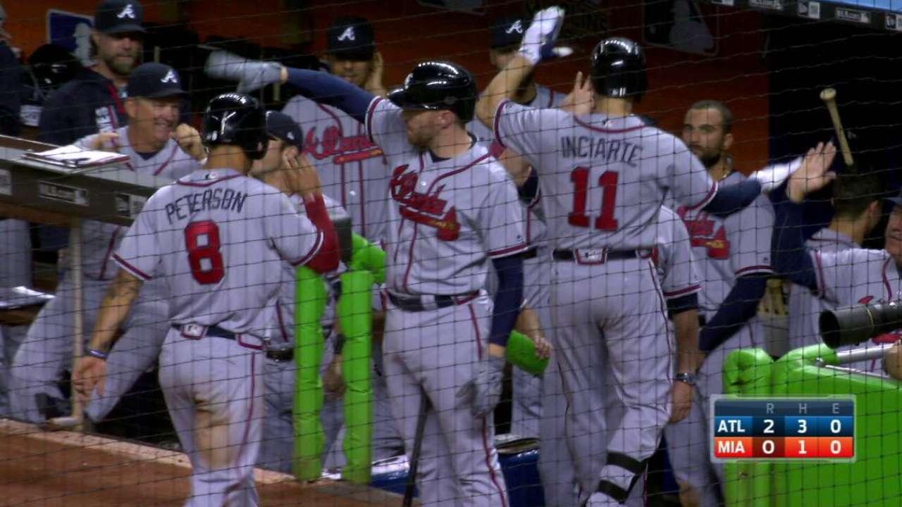 Inciarte's two-run home run