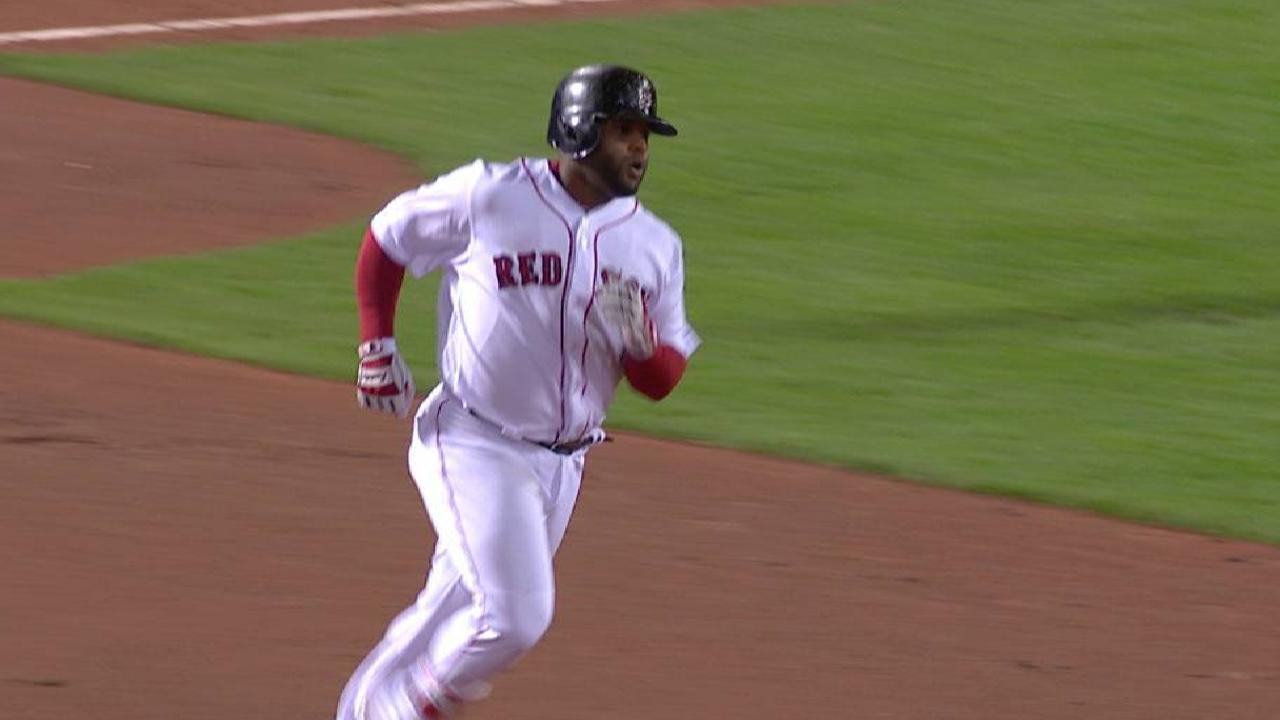 Sandoval's two-run homer