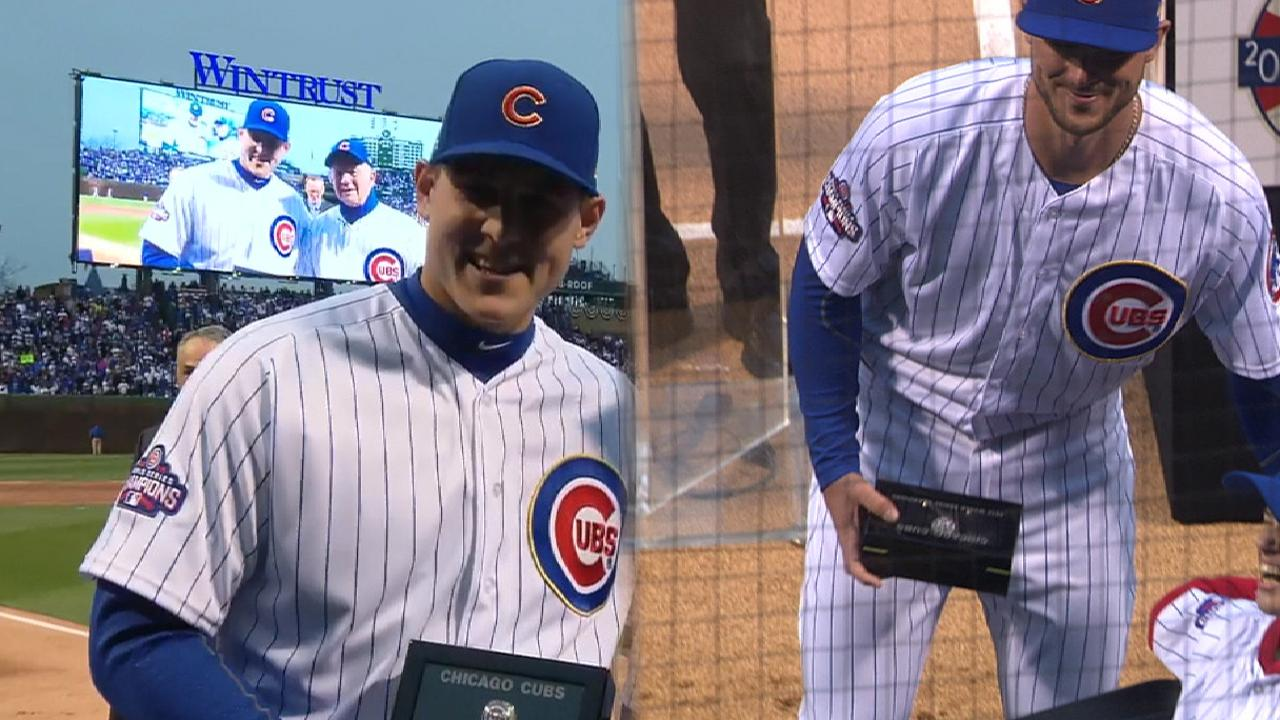 Rizzo, Bryant get their rings