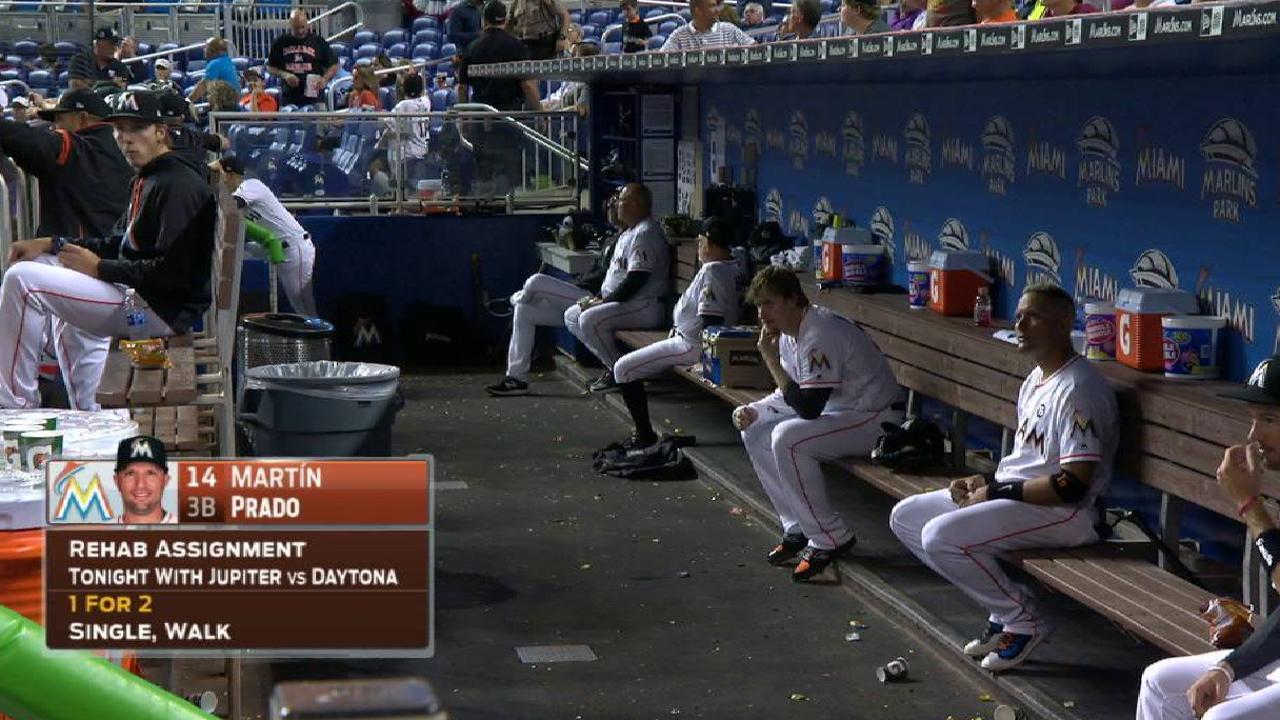 Marlins broadcast on injuries
