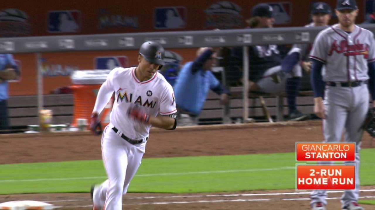Stanton's second home run