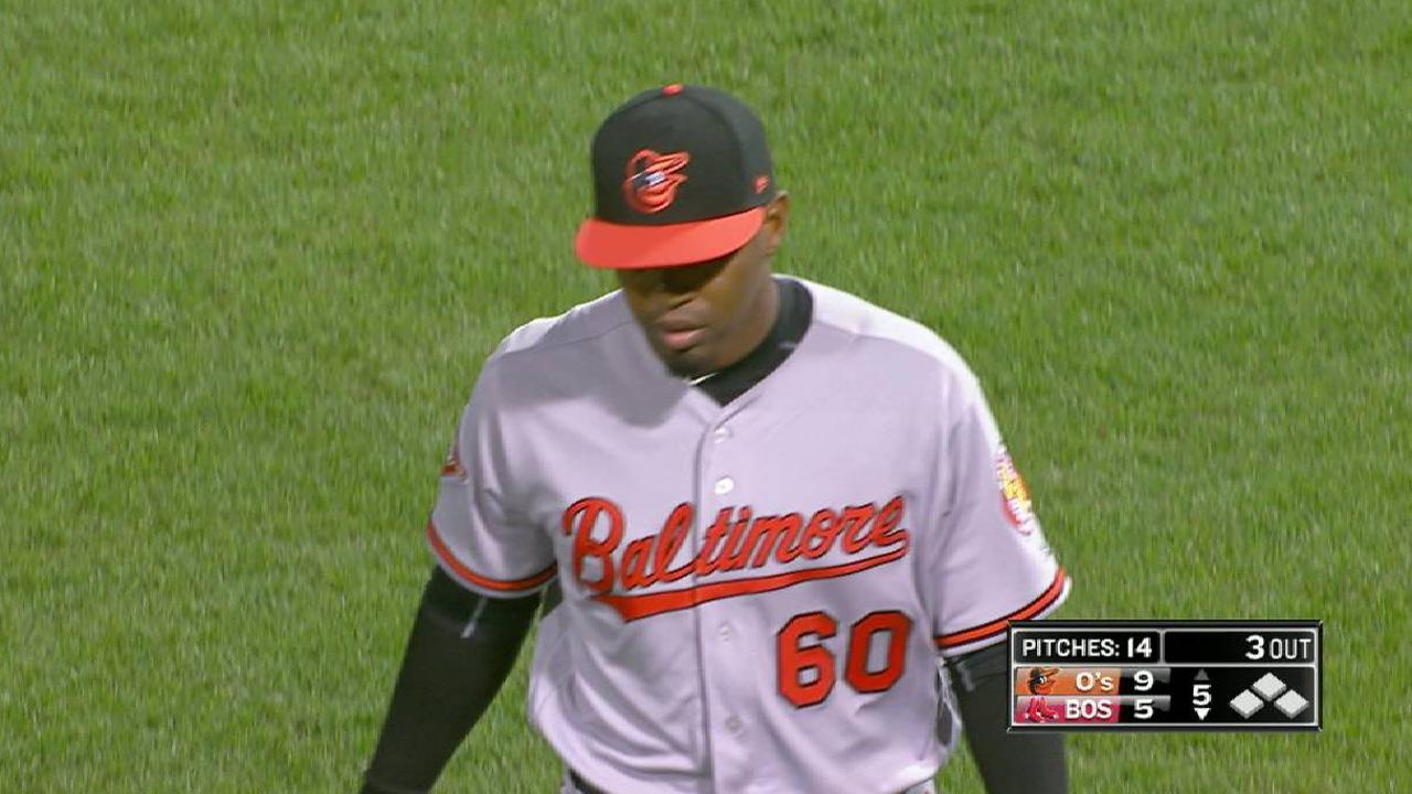 Givens gets out of tough inning