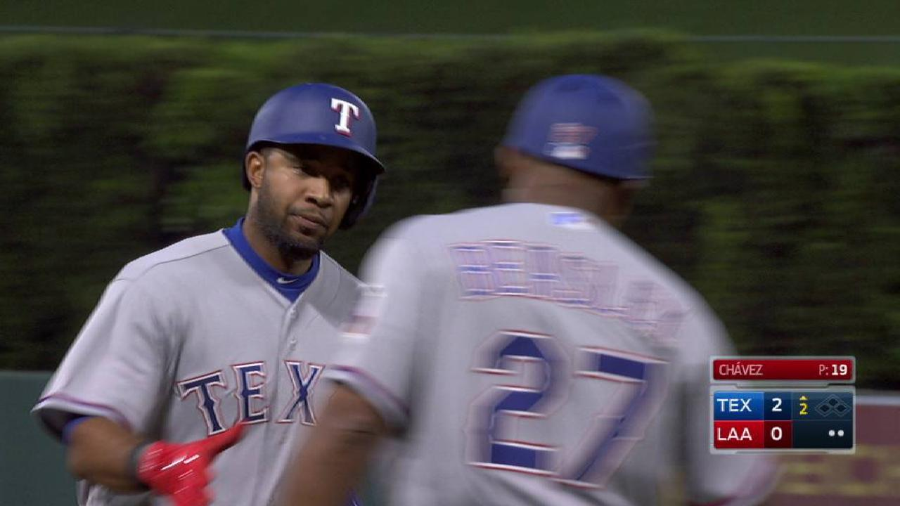 Andrus' solo home run to left