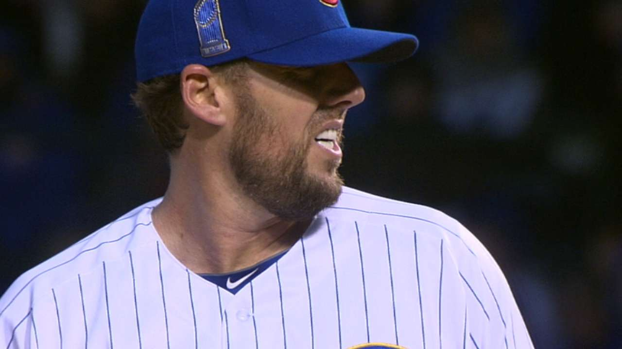 Lackey shifts focus back to task at hand