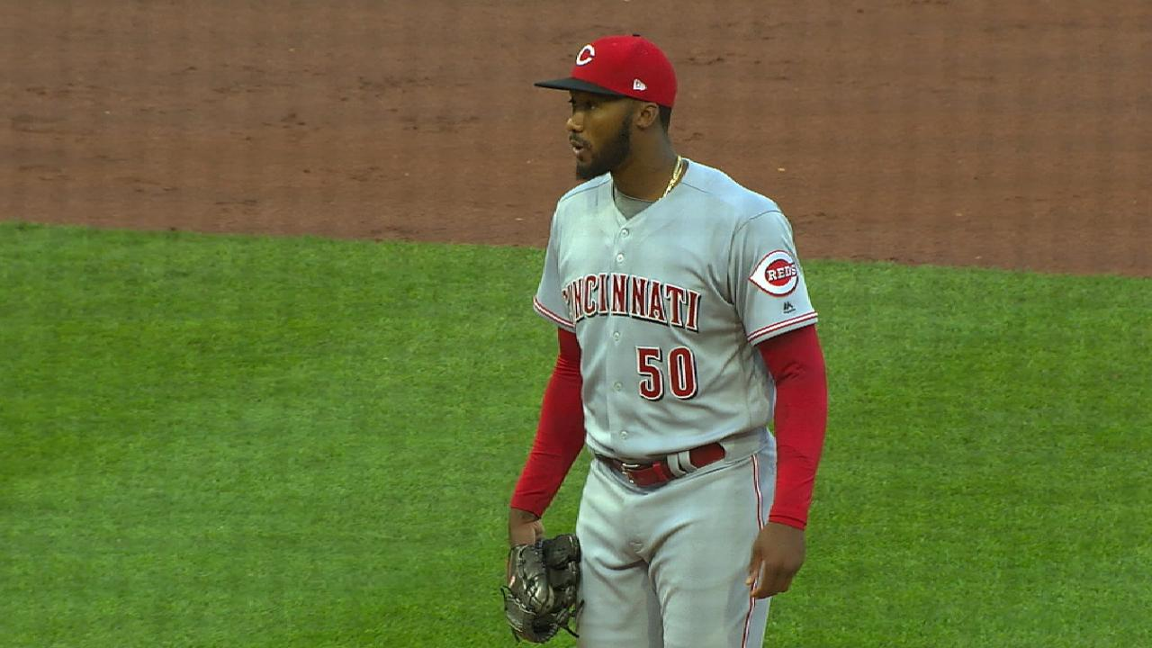 Garrett a key piece for surprising Reds