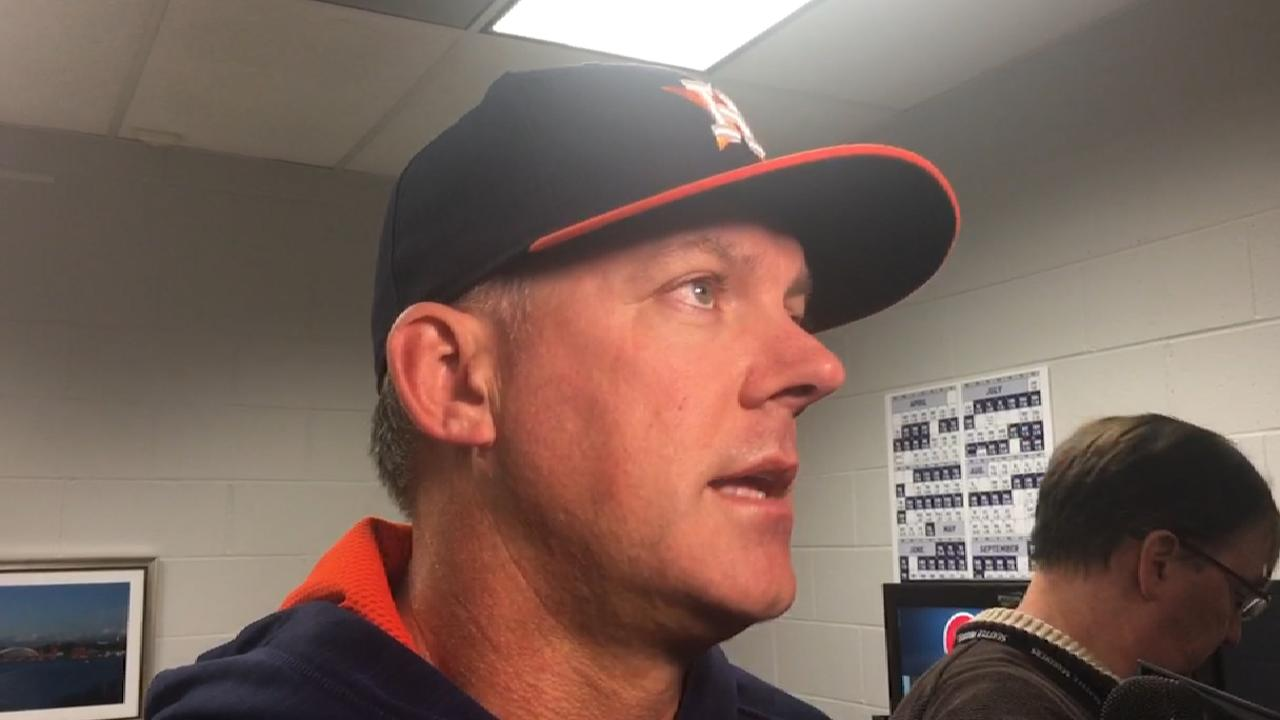 Hinch on the Astros' offense