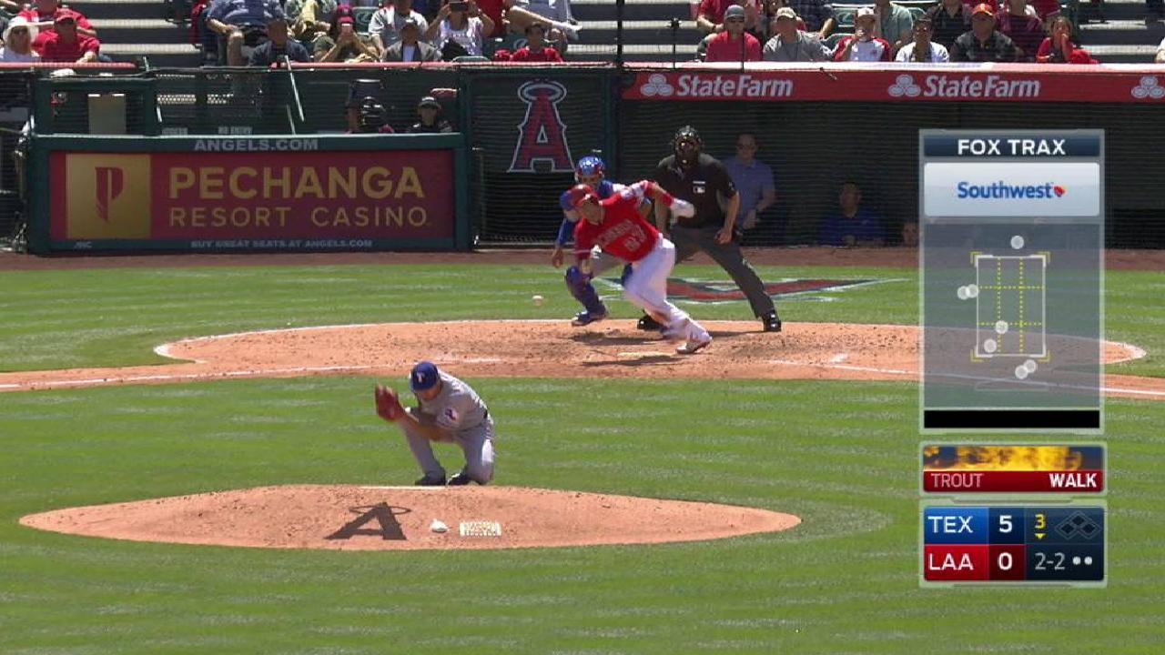 Darvish hit, stays in game
