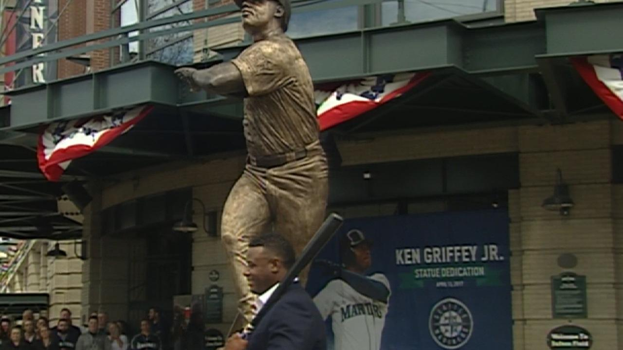Mather on Griffey statue's look