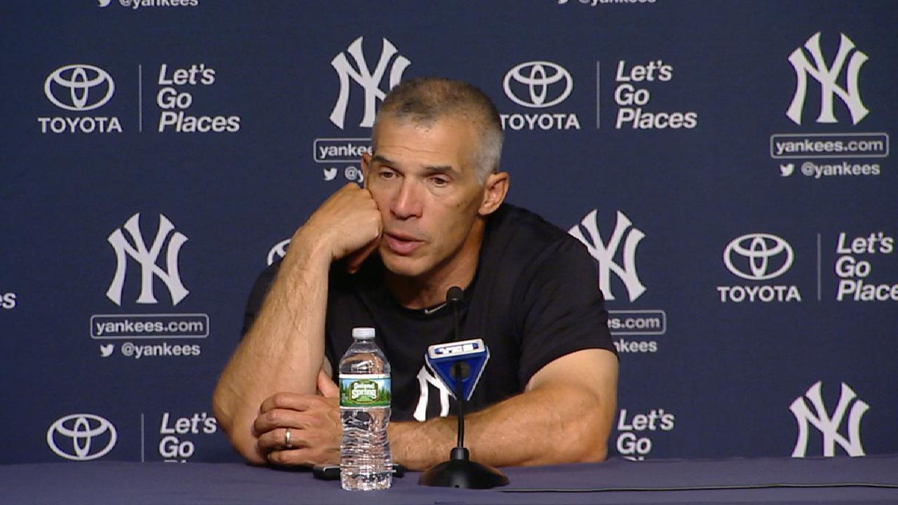 Girardi on Severino and Hicks